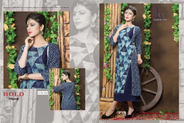 KUSHAL TEX FREPIC CATALOGUE RAYON PRINT DESIGNER WEAR KURTI (3)