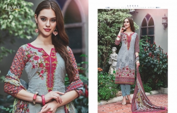LAVINA 68 PURE COTTON EMBROIDERED CASUAL WEAR SALWAR KAMEEZ WHOLESALE DEALER BEST RATE BY GOSIYA EXPORTS SURAT (9)