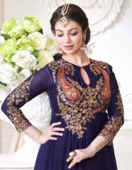 LAVINA ROOHANI VOL 4 GEORGETTE ANARKALI SUIT COLLECTION WHOLESALE BEST RATE BY GOSIYA EXPORTS SURAT