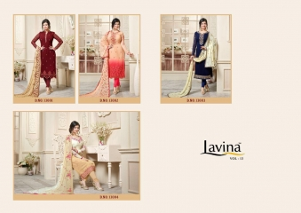 LAVINA VOL 13 CATALOGUE DESIGNER WEAR COLLECTION WHOLESALE SUPPLIER BEST RATE BY GOSIYA EXPORTS SURAT (5)