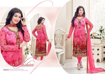 LAVINA VOL 58 BY LAVINA 58001 TO 58008 SERIES BOLLYWOOD STYLISH EMBROIDERED PART (2)