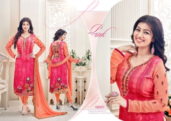 LAVINA VOL 58 BY LAVINA 58001 TO 58008 SERIES BOLLYWOOD STYLISH EMBROIDERED PART (6)