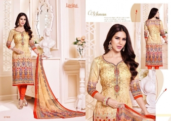LAVINA VOL 67 COTTON SATIN DIGITAL SALWAR KAMEEZ WHOLESALE BY GOSIYA EXPORTS SURAT (2)