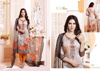 LAVINA VOL 67 COTTON SATIN DIGITAL SALWAR KAMEEZ WHOLESALE BY GOSIYA EXPORTS SURAT (7)