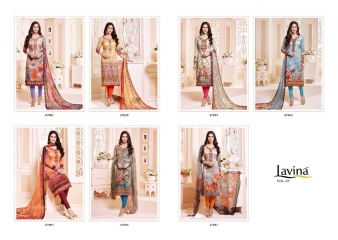 LAVINA VOL 67 COTTON SATIN DIGITAL SALWAR KAMEEZ WHOLESALE BY GOSIYA EXPORTS SURAT (8)