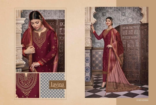 LAVINA VOL 85 GEORGETTE FABRIC WITH EMBROIDERY WORK SALWAR SUIT WHOLESALE DEALER BEST RATE BY GOSIYA EXPORTS SURAT (12)