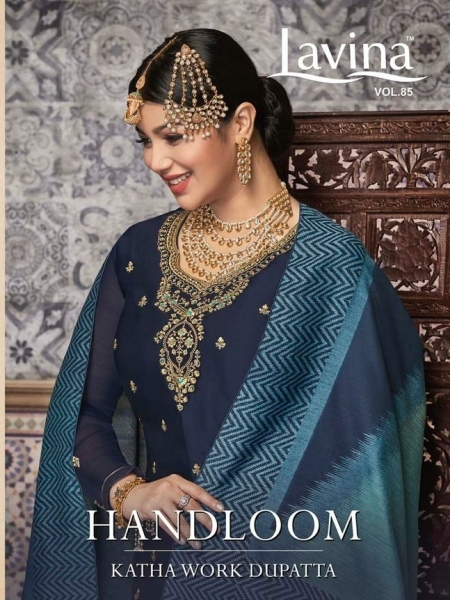 LAVINA VOL 85 GEORGETTE FABRIC WITH EMBROIDERY WORK SALWAR SUIT WHOLESALE DEALER BEST RATE BY GOSIYA EXPORTS SURAT (5)