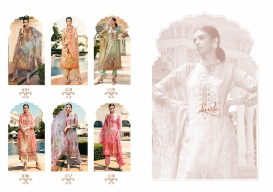 LEVISHA PRESENTS MAUSIN PASMINA FABRIC WITH EMBROIDERY WORK SALWAR SUIT WHOLESALE DEALER BEST RATE BY GOSIYA EXPORTS SURAT (2)