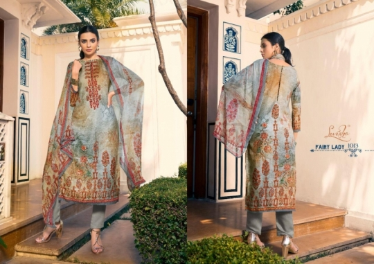 LEVISHA PRESENTS MAUSIN PASMINA FABRIC WITH EMBROIDERY WORK SALWAR SUIT WHOLESALE DEALER BEST RATE BY GOSIYA EXPORTS SURAT (3)
