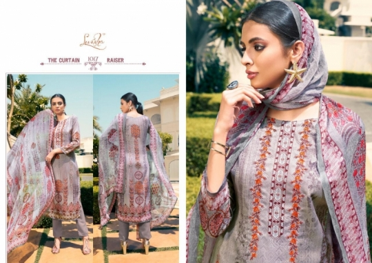LEVISHA PRESENTS MAUSIN PASMINA FABRIC WITH EMBROIDERY WORK SALWAR SUIT WHOLESALE DEALER BEST RATE BY GOSIYA EXPORTS SURAT (5)
