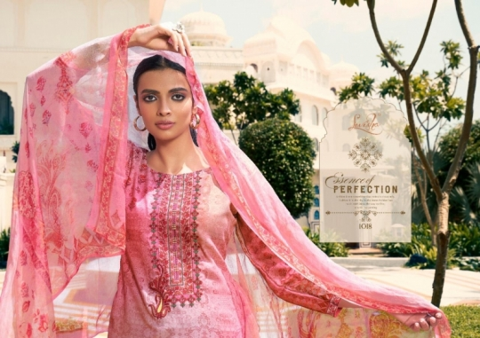 LEVISHA PRESENTS MAUSIN PASMINA FABRIC WITH EMBROIDERY WORK SALWAR SUIT WHOLESALE DEALER BEST RATE BY GOSIYA EXPORTS SURAT (6)