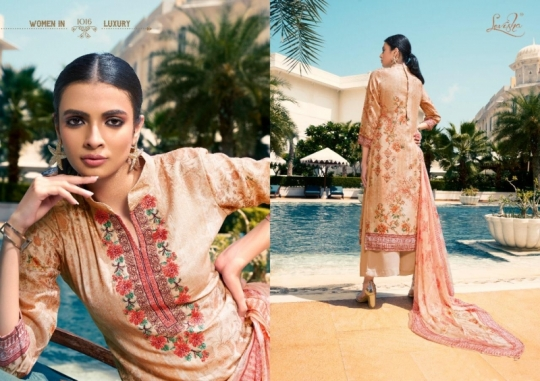LEVISHA PRESENTS MAUSIN PASMINA FABRIC WITH EMBROIDERY WORK SALWAR SUIT WHOLESALE DEALER BEST RATE BY GOSIYA EXPORTS SURAT (7)