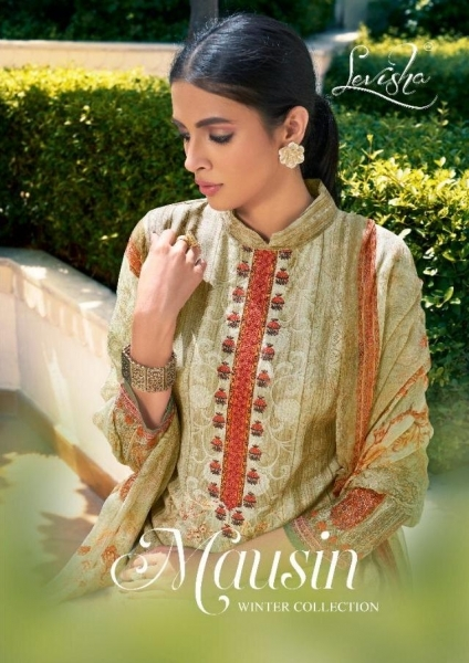 LEVISHA PRESENTS MAUSIN PASMINA FABRIC WITH EMBROIDERY WORK SALWAR SUIT WHOLESALE DEALER BEST RATE BY GOSIYA EXPORTS SURAT (8)