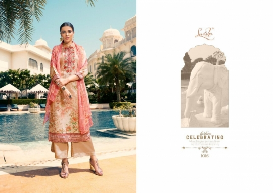 LEVISHA PRESENTS MAUSIN PASMINA FABRIC WITH EMBROIDERY WORK SALWAR SUIT WHOLESALE DEALER BEST RATE BY GOSIYA EXPORTS SURAT (9)