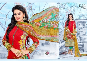 LEVISHA ROLEX COTTON SATIN SUITS WHOLESALE BEST RATE BY GOSIYA EXPORTER SURAT (3)