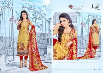 LEVISHA ROLEX COTTON SATIN SUITS WHOLESALE BEST RATE BY GOSIYA EXPORTER SURAT (5)