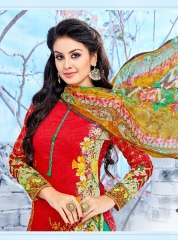 LEVISHA ROLEX COTTON SATIN SUITS WHOLESALE BEST RATE BY GOSIYA EXPORTER SURAT