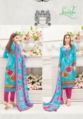 LEVISHA SWARNA LAWN COTTON WHOLESALE RATE AT GOSIYA EXPORTS WHOLESALE DEALER SURAT GUJARAT (6)