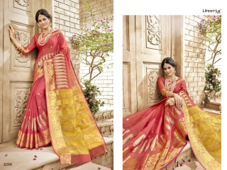 LIFESTYLE HANSIKA VOL 3 PARTY WEAR SILKS SAREES WHOLESALE SUPPLIER BEST RATE BY GOSIYA EXPORTS SURAT (10)