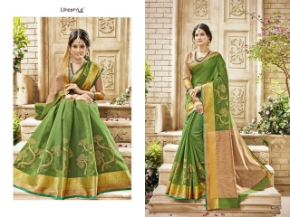 LIFESTYLE HANSIKA VOL 3 PARTY WEAR SILKS SAREES WHOLESALE SUPPLIER BEST RATE BY GOSIYA EXPORTS SURAT (4)