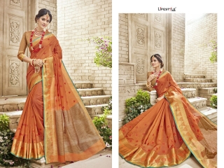 LIFESTYLE HANSIKA VOL 3 PARTY WEAR SILKS SAREES WHOLESALE SUPPLIER BEST RATE BY GOSIYA EXPORTS SURAT (5)