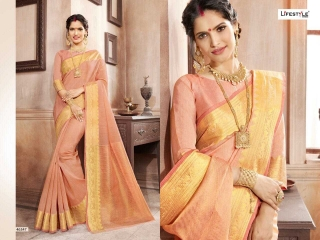LIFESTYLE KHADI SILK VOL 10 WEAVING SILK DESIGNER SAREES CATALOG WHOLESALE BEST RATE BY GOSIYA EXPORTS FROM SURAT (1)