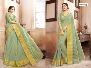 LIFESTYLE KHADI SILK VOL 10 WEAVING SILK DESIGNER SAREES CATALOG WHOLESALE BEST RATE BY GOSIYA EXPORTS FROM SURAT (8)