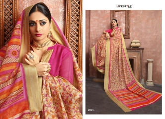 LIFESTYLE MULBERRY SILK VOL 3 COTTON PRINTS SAREES WHOLESALE BEST RATE BY GOSIYA EXPORTS SURAT (1)