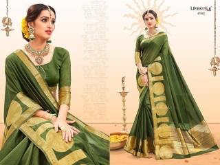 LIFESTYLE PALM SILK VOL 2 SILK SAREE CATALOG AT BEST RATE BY GOSIYA EXPORTS SURAT (2)