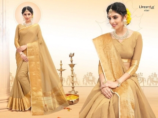 LIFESTYLE PALM SILK VOL 2 SILK SAREE CATALOG AT BEST RATE BY GOSIYA EXPORTS SURAT (6)