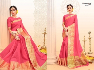 LIFESTYLE PALM SILK VOL 2 SILK SAREE CATALOG AT BEST RATE BY GOSIYA EXPORTS SURAT (9)