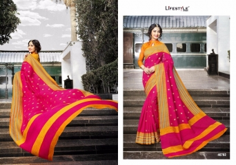 LIFESTYLE PATOLA SILK COTTON PRINT SILK SAREES WHOLESALE BEST RATE DEALER BY GOSIYA EXPORT SURAT (2)
