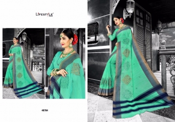 LIFESTYLE PATOLA SILK COTTON PRINT SILK SAREES WHOLESALE BEST RATE DEALER BY GOSIYA EXPORT SURAT (4)