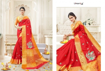 LIFESTYLE RUKMANI CATALOG SILK SAREES FESTIVE WEAR SAREES COLLECTION (3)