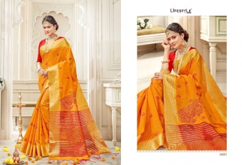 LIFESTYLE RUKMANI CATALOG SILK SAREES FESTIVE WEAR SAREES COLLECTION (6)