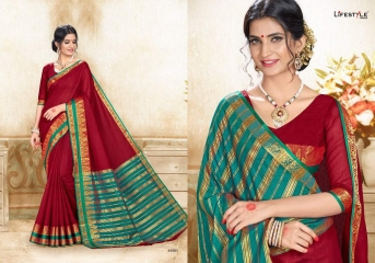 LIFESTYLE SAREE KHADI SILK VOL 6 WHOLESALE RATE AT GOSIYA EXPORTS SURAT WHOLESALE DEALER AND SUPPLAYER SURAT GUJARAT (5)