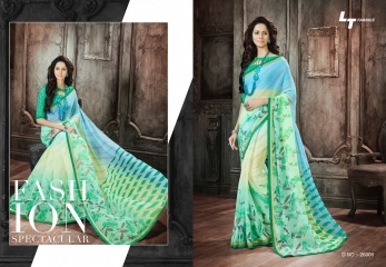 Lt blush chiffon Sarees collection Wholesale BEST RATE BY GOSIYA EXPORTS (1)