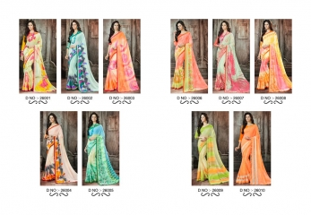 Lt blush chiffon Sarees collection Wholesale BEST RATE BY GOSIYA EXPORTS (10)