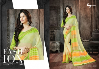 Lt blush chiffon Sarees collection Wholesale BEST RATE BY GOSIYA EXPORTS (11)