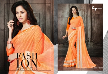 Lt blush chiffon Sarees collection Wholesale BEST RATE BY GOSIYA EXPORTS (3)