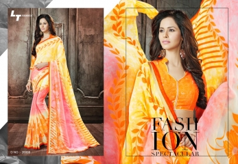 Lt blush chiffon Sarees collection Wholesale BEST RATE BY GOSIYA EXPORTS (4)