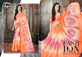 Lt blush chiffon Sarees collection Wholesale BEST RATE BY GOSIYA EXPORTS (6)