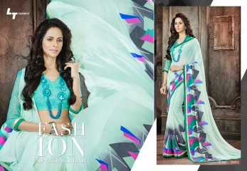 Lt blush chiffon Sarees collection Wholesale BEST RATE BY GOSIYA EXPORTS (9)