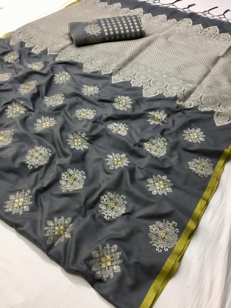 LT FABRIC RESHMA SILK FABRIC  (5)