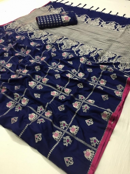 LT FABRIC RESHMA SILK FABRIC  (3)