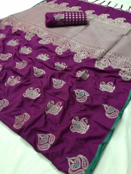 LT FABRIC RESHMA SILK FABRIC  (8)