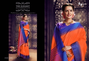 LT FABRICS PONGAL COLLECTION PARTY WEAR SILKS SAREES WHOLESALER BEST RATE BY GOSIYA EXPORTS SURAT (2)