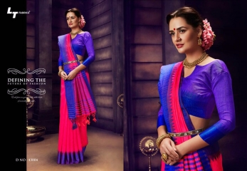 LT FABRICS PONGAL COLLECTION PARTY WEAR SILKS SAREES WHOLESALER BEST RATE BY GOSIYA EXPORTS SURAT (3)