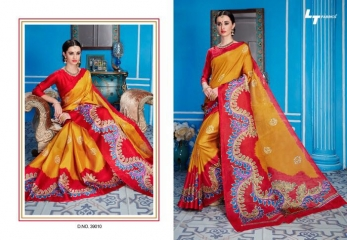 LT FABRICS TRADITION VOL 2 KHADI SILK SAREES COLLECTION WHOLESALE DEALER BEST RATE BY GOSIYA EXPORTS (11)