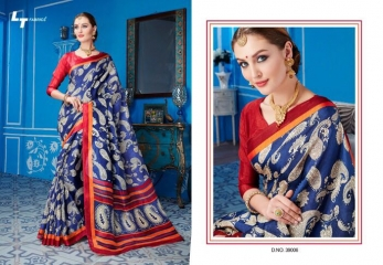 LT FABRICS TRADITION VOL 2 KHADI SILK SAREES COLLECTION WHOLESALE DEALER BEST RATE BY GOSIYA EXPORTS (7)